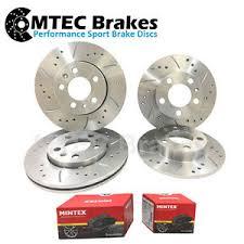 mercedes c class brake discs mercedes c class w203 2 2 cdi front rear drilled brake discs ebay