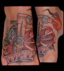 for unique memphis tattoos dad foot tattoo u003d