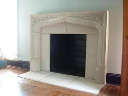 Fireplace Opening Covers by Tudor Artisans Architectural Stone Tudor Fireplaces