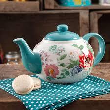 the pioneer woman country garden teapot walmart com