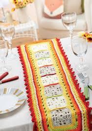 free pattern summer dining crochet table runner crochet home