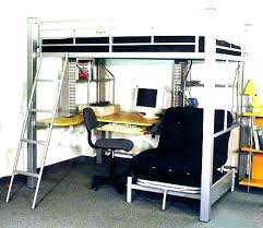 Bunk Futon Bed Loft With Futon Top Loft Bed With Futon And Desk Loft Futon Beds