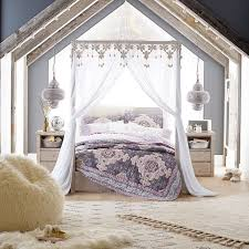 Pb Teen Bedrooms Casual Boho Canopy Pbteen