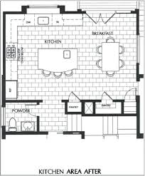 kitchen floor plans island gorgeous kitchen island plan for galley with of floor plans ilashome