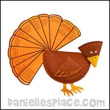 turkey plate craft thanksgiving crafts for kids