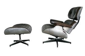 Lounge Chair And Ottoman Eames by Eames Lounge Chair White Oak White Leather Eames Lounge Chair