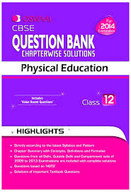 cbse question bank chapterwise solutions physical education