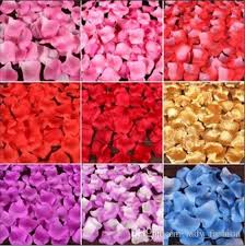 cheapest flowers cheap pink purple silk petals flower wedding party