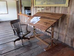 Drafting Table Blueprints Wooden Drafting Table Plans Into The Glass Decide To Use A
