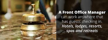 Front Desk Executive Means Who Is A Front Office Manager International Hotel