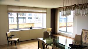 apartments astonishing living room window treatments and dining