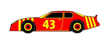 bright orange cars orange race car clipart clipartxtras
