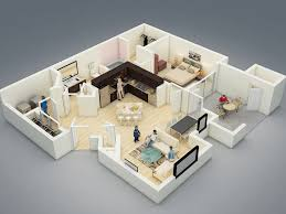 3d Floor Designs by Home Design 4 Pictures Of 3d Apartment Design 25 More 2