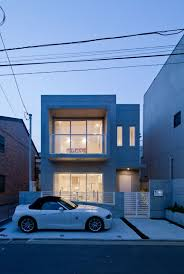 Small Modern House Design Ideas by Seeking Balance And Tranquility Modern Zen Design House In Tokyo