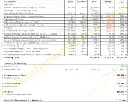water damage invoice sample u2013 hardhost info