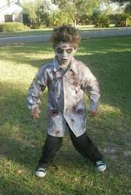 Zombie Halloween Costumes Girls Tutorial Zombie Nails Costume Inspirations