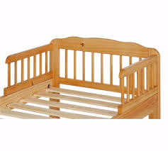 home antique pine toddler bed frame natural 611 in hall green