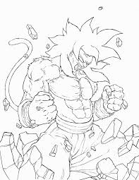 goku coloring pages funycoloring