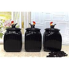 black and white kitchen canisters black and white kitchen canisters