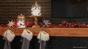 How To Decorate A Mantel For Christmas Remodelaholic Christmas Mantel Decorating
