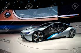 bmw concept car frankfurt sep 25 bmw concept car i8 shown at the 64th