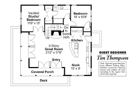 Floor Plans With Porches by Craftsman House Plans Cedar View 50 012 Associated Designs