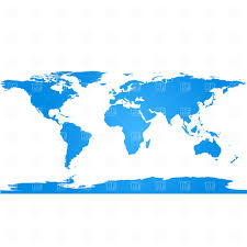 World Continent Map World Map With Continents Vector Image 1888 U2013 Rfclipart