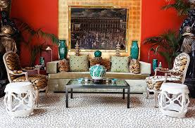 one kings lane table inside an amazingly bold maximalist home one kings lane our