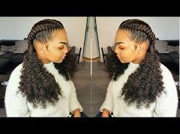 crochet braid ponytail cornrows invisible crochet braids ponytail feed in braids