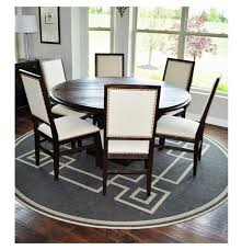 60 Round Dining Room Tables Hudson 60