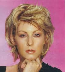 thick hair styles for middle aged women short shag hairstyles women newsfashioninfo com beauty
