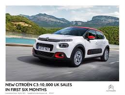 new citroen c3 news citroën celebrates 10 000 new c3 sales in the uk drivetribe