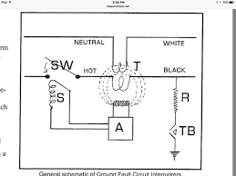 2 answers what is the wiring schematic of a gfci quora