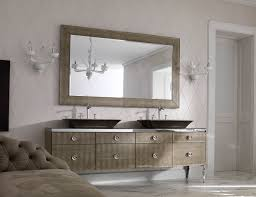 high end bathroom vanity with plenty drawers and black sinks also