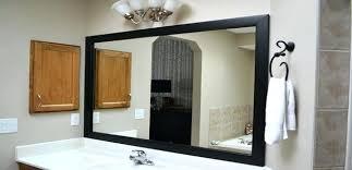 black bathroom mirrors black framed bathroom mirrors black frame mirrors for bathroom black
