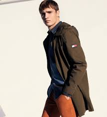 Multicoloured Flag Men U0027s Coats U0026 Jackets Tommy Hilfiger