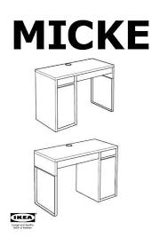 si e bureau ikea ikea micke bureaumöbel herunterladen pdf anleitung kostenlos 06