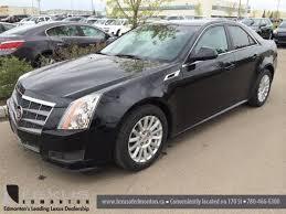 2011 cadillac cts bluetooth pre owned black on black 2011 cadillac cts sedan st albert