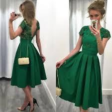 green dresses for wedding guest 2017 emerald green wedding guest dress a line neck illusion