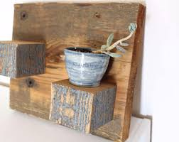 Wall Sconces For Flowers Rustic Wall Sconce Etsy