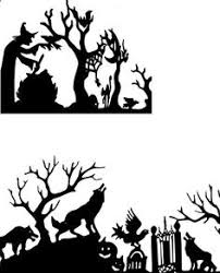 halloween silhouettes google search halloween pinterest