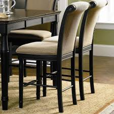 Counter Height Chairs With Back Coaster Cabrillo Counter Height Chair With Fabric Rolled Back And