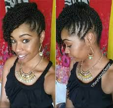 pin up hair styles for black women braided hair nice protective style natural hair pinterest protective