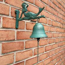 wall mount dinner bell home decor antique style bell treasure gurus