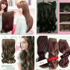 harga hair clip curly jual hair clip big layer and curly bellezzeshop