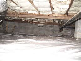 newly installed r 19 batt and vapor barrier falcone certified