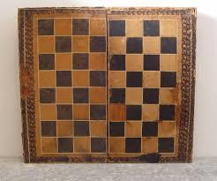 Fancy Chess Boards Distressed Backgammon Chess Board Book Box U2013 Artifax Antiques U0026 Design