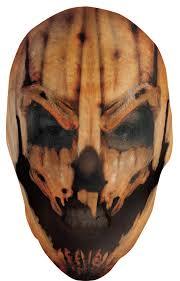 pumpkin mask for halloween scary pumpkin sock mask in masks nightmarefactory com