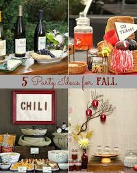 5 party themes for fall gatherings books housewarming party and