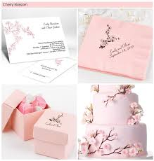 cherry blossom wedding invitations cherry blossom theme pink wedding cherry blossoms
